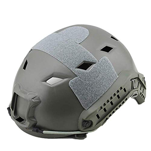 Jidesheying Army Military Tactical Helm Überzug Casco Airsoft Helmzubehör Emerson Paintball Schnell Springen Schutzhelm (Color : Army Green, Size : -)