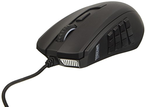Turtle Beach Grip Arena MMO Gaming Mouse per PC, Black