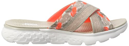 Skechers Damen On-the-Go 400-Tropical Sandalen Grau (ntcl)