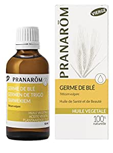 Pranarom - Huile végétale germe de blé vierge - 50 ml huile végétale triticum vulgare