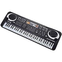 61 Teclas Teclado de Piano Electrónico con Micrófono Instrumento Musical ...