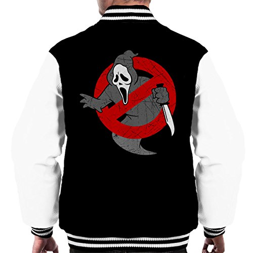 Ghostbusters Scream Mashup Men's Varsity Jacket