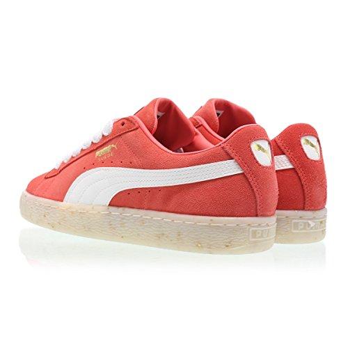 Puma Suede Classic Bboy Fabulous Donna Sneaker Rosso Arancione