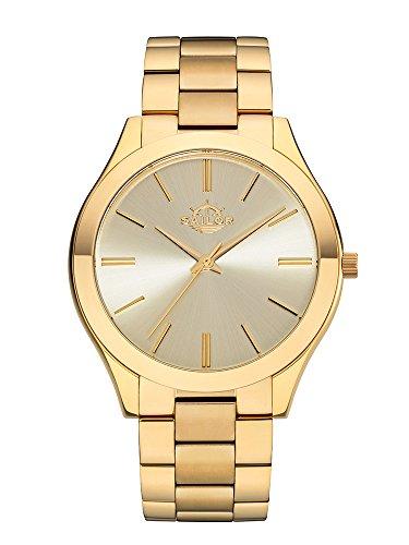 Sailor Damen Uhr Fashion Analog Quarz Paris Gold-Gold mit Edelstahl Armband SL201-3489