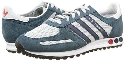 sports shoes a80fd eb86b ... adidas LA Trainer - Zapatillas para hombre, color gris   azul marino    rojo, ...