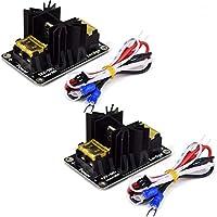 hiletgo 3D Drucker Zubehör 30A MOS Tube Power Modul Allgemeine Add-On Hot Bed Hitze Power Modul Expansion Board Hohe strombelastung Modul MOS Tube Hotend Ersatz mit Kabel für 3D Drucker (Pack von 2)