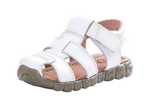 beb626d8b4789 Evedaily Sandale Enfant Bout Fermé Sandales de Marche Randonnée Chaussures  Eté Garçon Fille en Cuir -