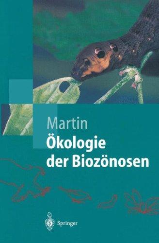 Ã-kologie der BiozÃnosen (Springer-Lehrbuch)