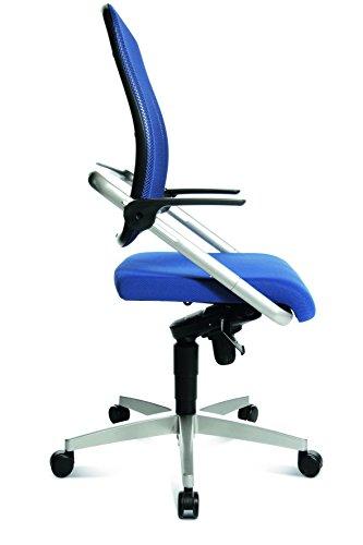 Design Bürodrehstuhl blau - 2