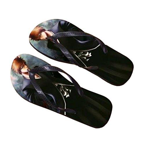 Bromeo Bleach Anime Unisex Flip Flops Zehentrenner Flip Pantoffeln 277