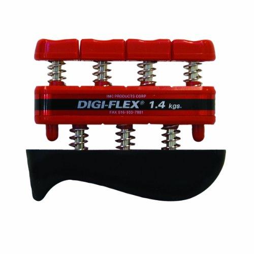 Digi-Flex Handtrainer Fingertrainer Digiflex (rot leicht) - Digi-flex Handtrainer
