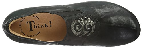Think! Damen Menscha Slipper Schwarz (SZ/KOMBI 09)