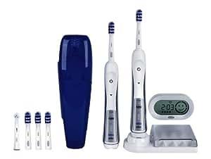 Braun Oral-B TriZone 5500 Elektrische Premium-Zahnbürste (mit 2. Handstück, Reise-Etui und SmartGuide)