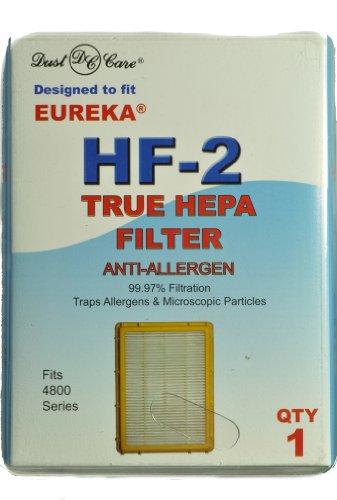 Eureka-ersatz-filter (Eureka aufrecht Ultra Smart Vac True Care Hepa Filter, Ersatz, Marke Staub ausgelegt für Eureka 4800 Serie HF2 Filter mit Stil)