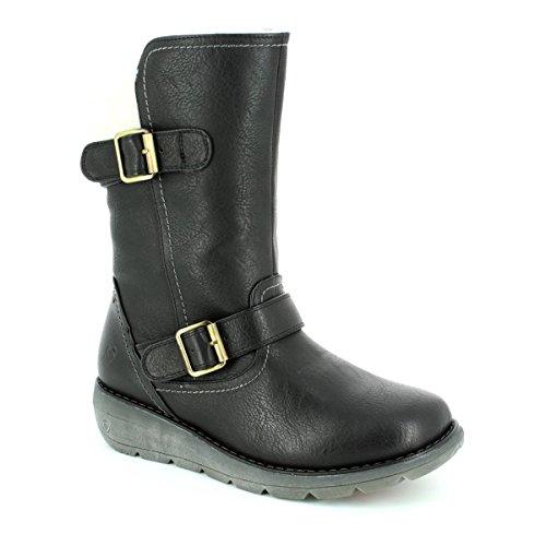 Heavenly Feet, Bottes pour Femme Noir
