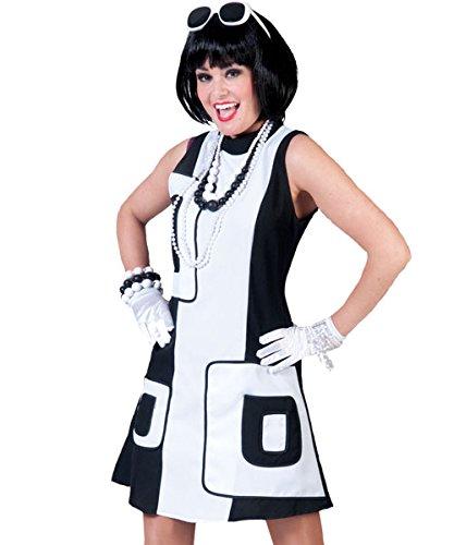 Pierro´s Kostüm 50er Jahre Kleid Paola Größe (Kostüme Kleid Jahre Schwarz 50er)