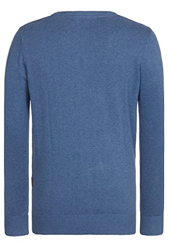 Naketano Male Knit Jedem Ass getrotzt III Blue Melange