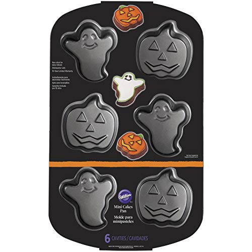 Wilton Halloween Tortiera, Acciaio, Orange