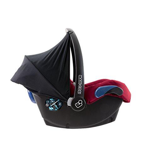 Maxi-Cosi Citi Babyschale (in Kombination mit allen Maxi-Cosi und Quinny-Kinderwagen und Buggys flexibel einsetzbar, Leichtgewicht und für das Flugzeug zugelassen, Gruppe 0+, bis 13 kg) robin red