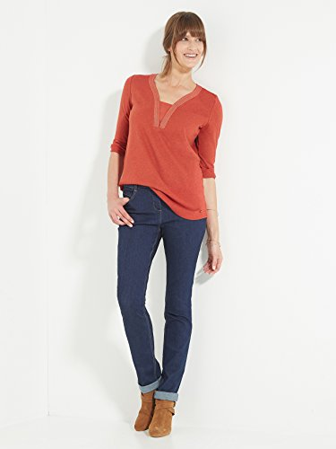 Balsamik - Tee-shirt manches 3/4 - femme Terre cuite