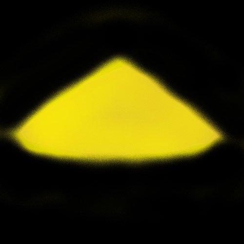 Profi Premium Leuchtpulver Sehr hell im Dunkeln nachleuchtendes Farbpulver. Selbstleuchtendes UV Glühpulver, Nachleuchtpigmente, Glow in the Dark (Grün,Blau,Gelb,Lila,Grün-Blau,(Gelb 100 Gramm)