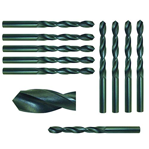 0,8 mm (10 St.) Spiralbohrer Metallbohrer Stahlbohrer HSS Bohrer DIN 338