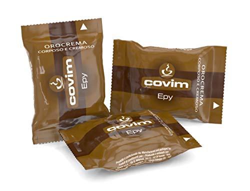 Covim Caffè Capsule Epy Orocrema,  Compatibili Sistema Lavazza Espresso Point, 100 Capsule Monodose