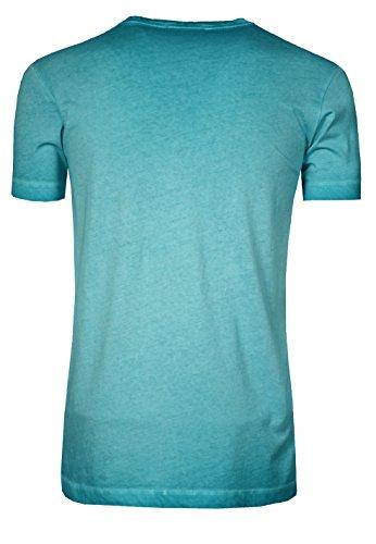 de6fad78c15460 Signum Herren T-Shirt mit V-Ausschnitt I 100% Baumwolle I Mehrere Farben ...