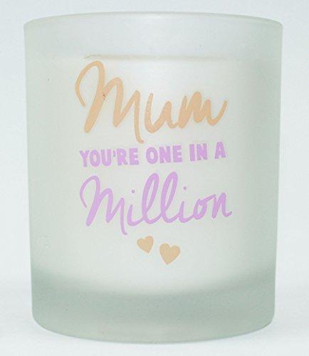 Karte und Party Store Mum Loving Words Mutter 's Day Glas Duftkerze Geschenk für sie Frauen Fresh Home