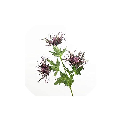 Shimmer Lumine Artificial flowers Simulation Blumen American Pastoral Typ Einzelne Wilde Thorn Petersilie kreative Heimat Wohnzimmer-Dekoration, Lila