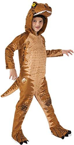 Child Jurassic World 2 T-Rex Fancy Dress Costume Large