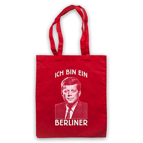 Jfk Sono Un Mantello Rosso Da Berlinese