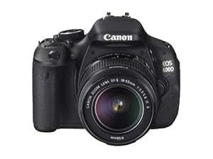 Canon 600D + EF-S 18-55mm Appareil Photo Numérique Compact 18 Mpix Noir