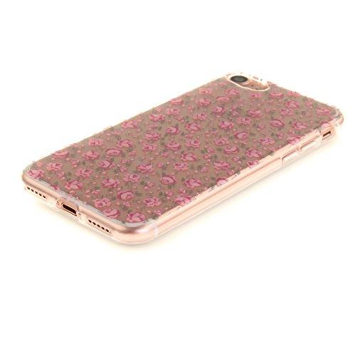 MOONCASE iPhone 7 Coque,Etui de Protection Coque Slim Antidérapant Case en TPU Gel Avec Absorption de Chocs pour iPhone 7 TX20 TX02
