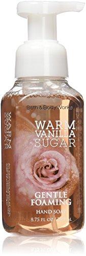Bath & Body Works WARM VANILLA SUGAR Gentle Foaming Hand Soap 8.75 oz / 259 mL