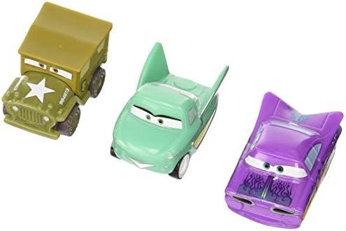 Cars Y9889 - Véhicule Miniature - Micro Drifter Pack de 3 Véhicules - Modèle 15 | élégante Et Gracieuse