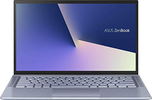 "ASUS ZenBook 14 UX431FA-AM021T - Ordenador portátil de 14"" (Intel Core i7-8565U, 8 GB RAM, 256 GB SSD, Intel UHD 620, Windows 10 Home) Metal Azul Plata - Teclado QWERTY Español"