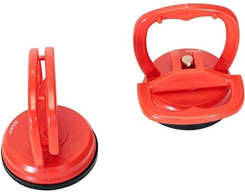 2 x Mini-Saugheber-Satz Glassauger , Saugnapf ø 55 mm (Einhand-Saugnapf) z.B. für Imacs Frontscheiben.