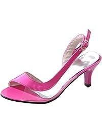 CFP , Damen Peep Toes , rosa - rose - Größe: 40