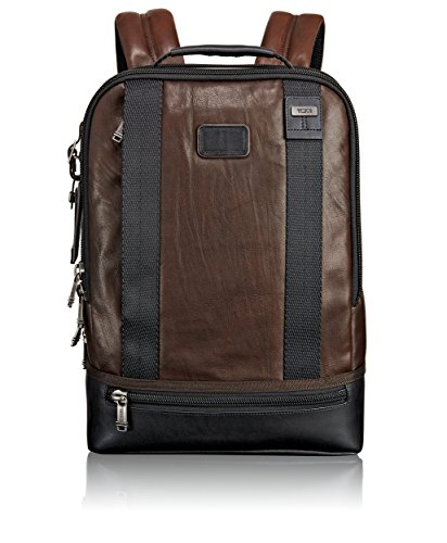 Tumi Alpha Bravo, Zaino in Pelle Dover, Marrone scuro - 092682DB2