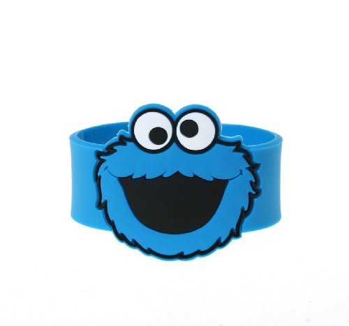 Monster Cookie Sesame Kostüm Street - Sesame Street Cookie Monster Snap Bracelet Armband
