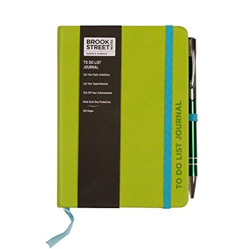 To-Do-List-Notizbuch für Erledigungslisten, DIN A6, eventuell nicht in deutscher Sprache A6 lindgrün (Dinge Zu Tun, Journal)