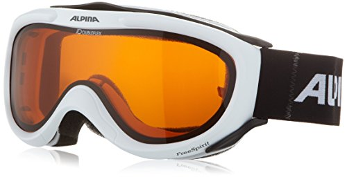Alpina Skibrille FreeSpirit, weiss dlh (white dlh), One size, A7008-111