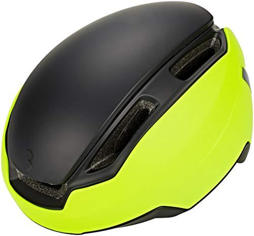 BBB Indra Speed 45 BHE-56 Helm Matt Neon Gelb Kopfumfang L 2018 Fahrradhelm