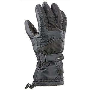 LEKI Damen Ski-Handschuhe Stripes Lady S Schwarz Trigger S