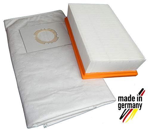 1x Filter + 10x Vliesbeutel geeignet für Kärcher NT 35/1 Eco/NT 35/1 Eco M/NT 35/1 Tact/NT 35/1 Tact Te/NT 35/1 Tact Te M