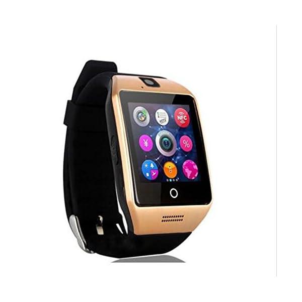 SmartWatch, reloj inteligente Bluetooth Q18 de 1.54 pulgadas, compatible con cámara NFC, tarjeta TF, reloj inteligente… 1