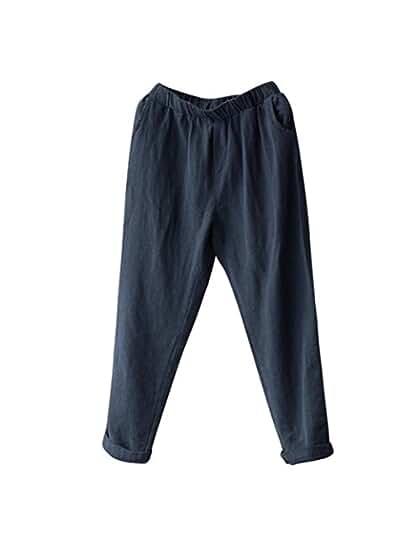 SANFASHION Femme Pantalon. 7a167df60e8