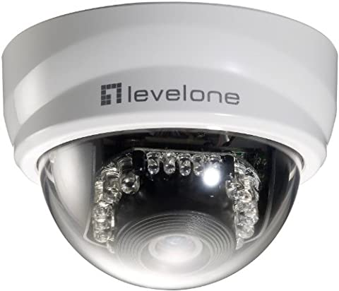 LevelOne 571018 FCS-3101 Feste-Dome-Netzwerkkamera (2 Megapixel)