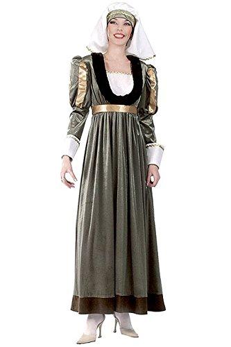 Unbekannt Aptafêtes-cu050081/38-40-Kostüm Gabriella Größe - Kostüm Medievale Femme